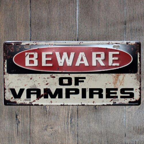 LICENSE CAR PLATE Vintage Tin Sign Bar pub home Wall Decor plaques H