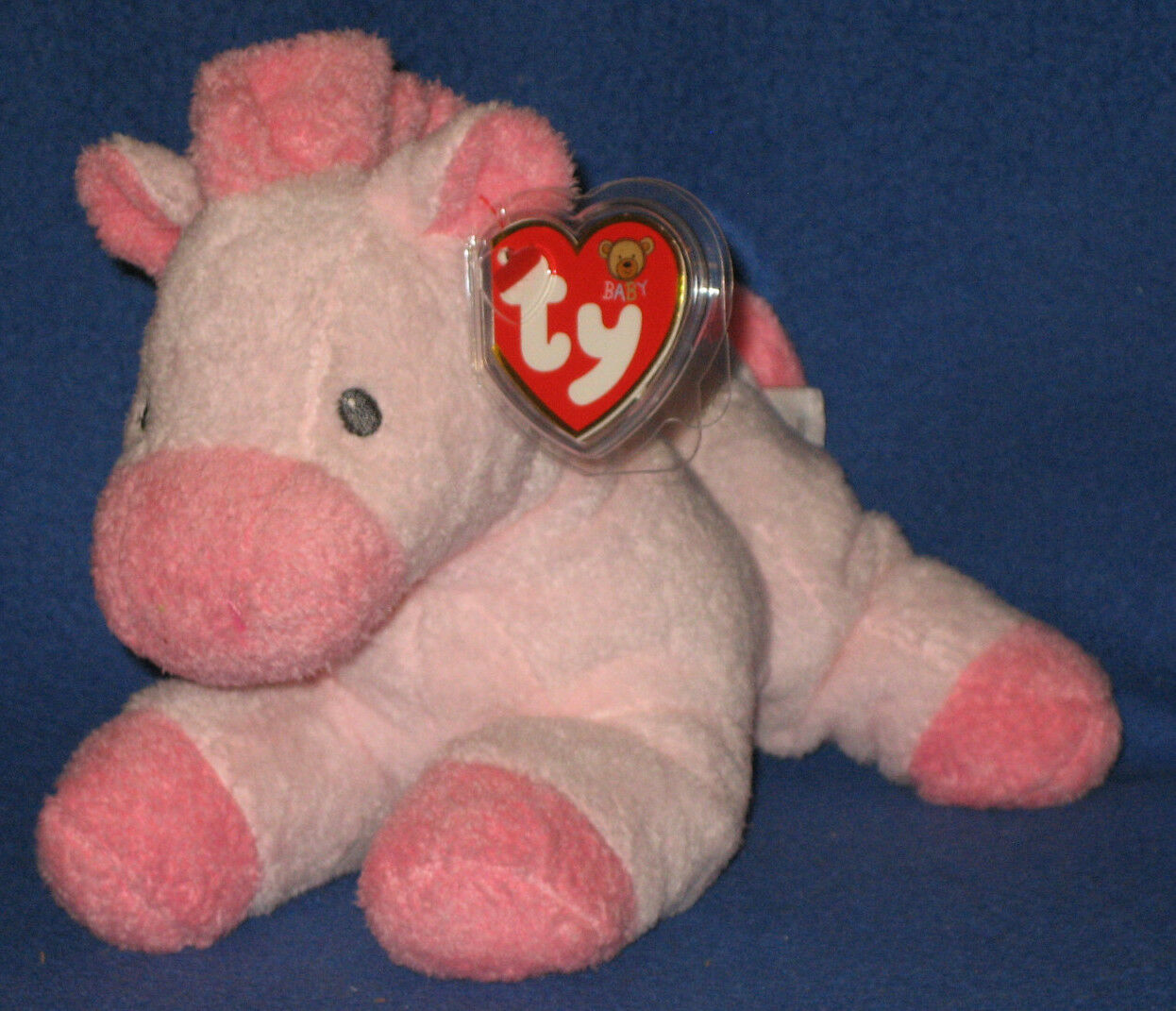 Mein pferdchen Rosa pferd - baby - ty - minze mit mint - tags