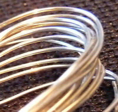 Platinum metal wire 50mm long 99.99% PURE! 0.5mm dia solid element
