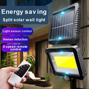 120-Lampe-Solaire-LED-Detecteur-de-Mouvement-Spots-Exterieur-Jardin