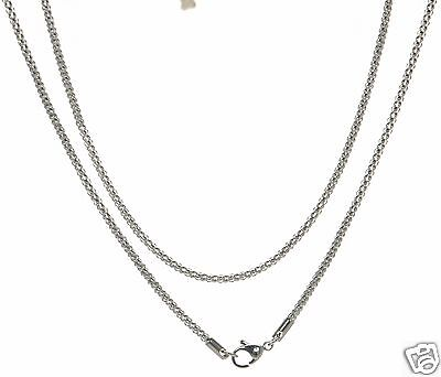 Silver Tone Y Design Long Necklace with Circle Detail New!!!