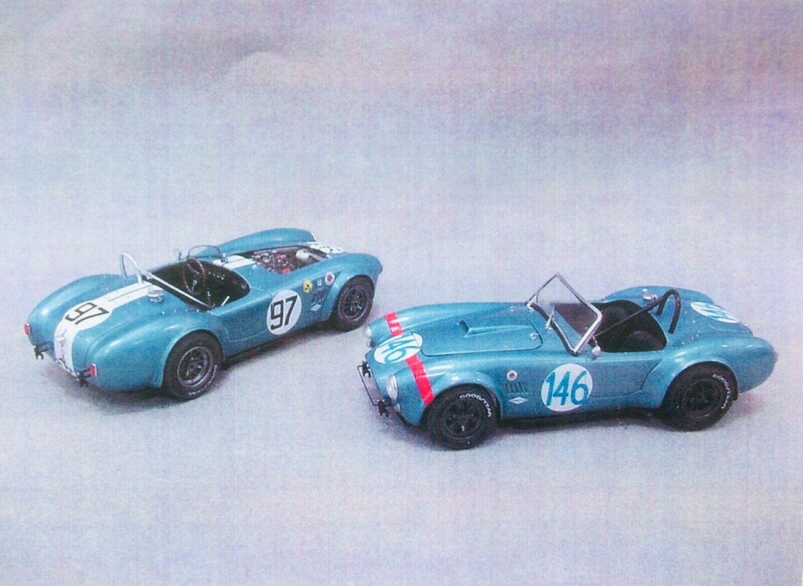 Replicas And Miniatures Company of Maryland HRM AC COBRA 289 1 24 RESIN