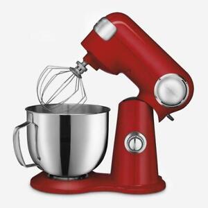 Cuisinart SM-50RIHR Precision Master 5.5-Qt (5.2L) Stand Mixer, Refurbished- Red
