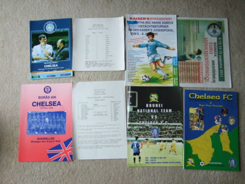 chelsea away friendly v brunei 24597 48 page regular issue