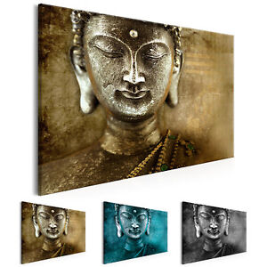 wandbilder xxl buddha bild figur deko bilder leinwand wohnzimmer p c 0007 b b ebay. Black Bedroom Furniture Sets. Home Design Ideas