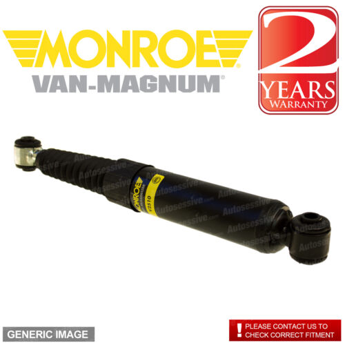 Monroe Rear Right Left Van-Magnum Shock Absorber x1 IVECO Daily 35S12 2.3 D RWD