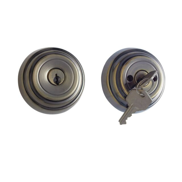 Altocraft Double Cylinder Deadbolt Iron Gate Lock AB/PB/SS/MB Color