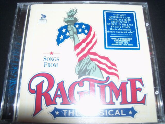 Ragtime Songs From – The Musical Soundtrack CD - New