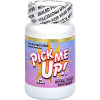 Pick Me Up Pills Natural Herbs & Vitamins Energy Boost Focus No Crash Or Jitters