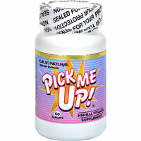 Pick Me Up Pills Natural Herbs & Vitamins Energy Boost Focus No Crash Or Jitters