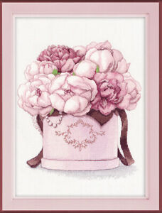 Counted-Cross-Stitch-Kit-OVEN-523-034-Jentle-peonies-034-034