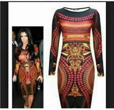 Celebrity Aztec Tribal Dress Small Worn Once