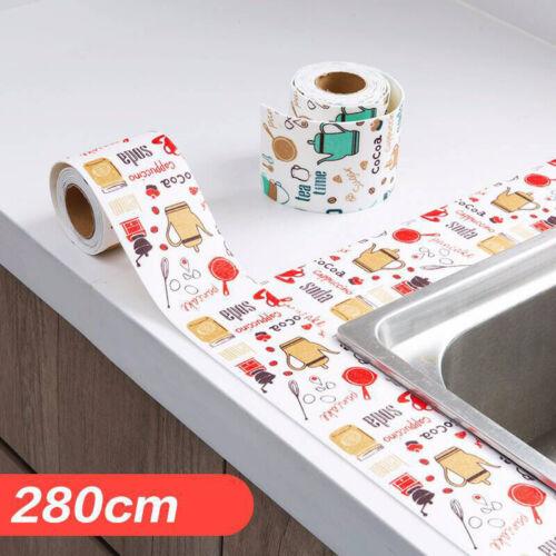 Waterproof Self-Adhesive Kitchen Wall Caulk Tape Mold Proof Bath Sealing Strip