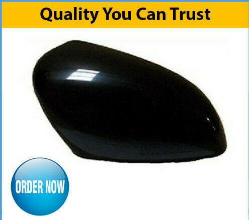 2013-2016 Renault Clio Door Mirror Cover Gloss Black Driver Side High Quality
