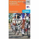 Dorking, Box Hill and Reigate by Ordnance Survey (Sheet map, folded, 2015)