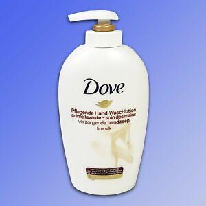 Dove-Soins-Hand-Waschlotion-034-Amende-Silk-034-avec-Creme-Hydratante