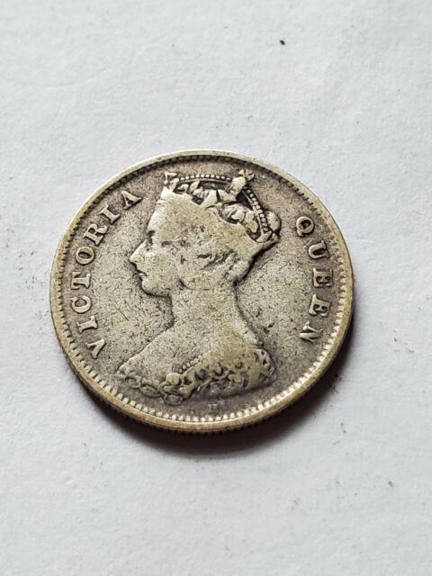 1900 Hong Kong 10 Cents
