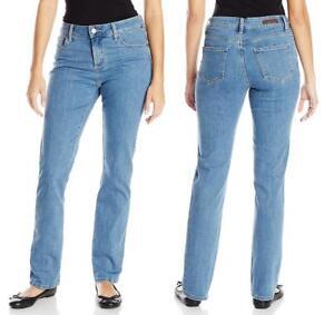 0afb3c2a PETITE Women's LEE JEANS Blue Classic Fit Straight Leg STRETCH ...