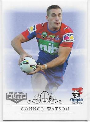 080 Connor WATSON Knights Box Card 2018 NRL Elite
