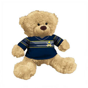 North QLD Queensland Cowboys NRL Plush Teddy Bear Sublimated 2018 Team Jersey