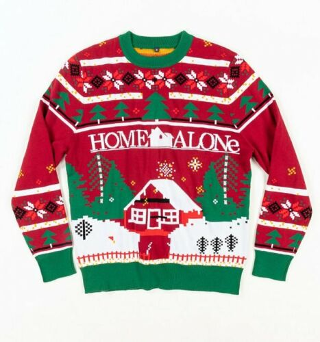 Official Home Alone Christmas Knitted Christmas Jumper from Difuzed