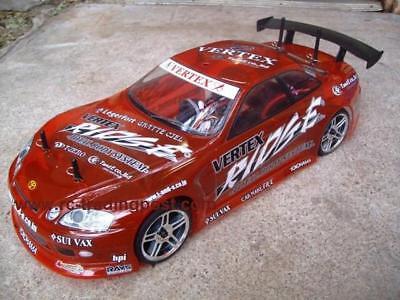 Custom Painted Body TOYOTA SOARER for 1//10 RC Drift Cars Touring HPI 200mm