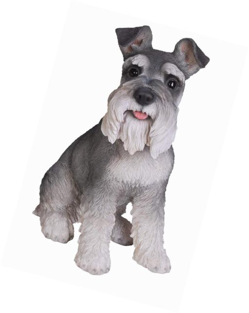 SPORT SHOE MINI SCHNAUZER DOG ORNAMENT//FIGURINE BY VIVID ARTS