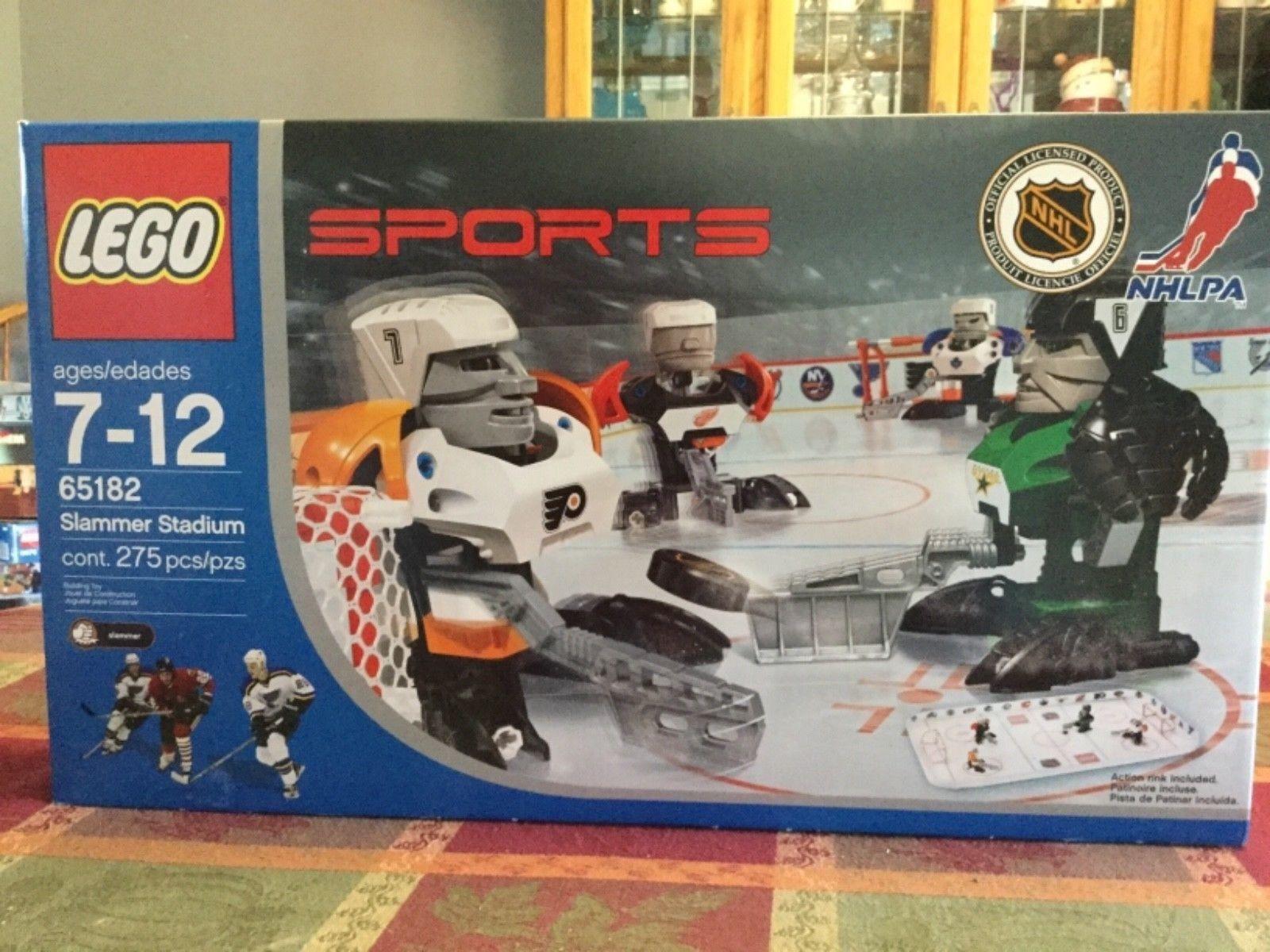 totalmente Nuevo Sellado de fábrica de Lego Estadio de Deportes 65182 NHLPA Hockey Slammer