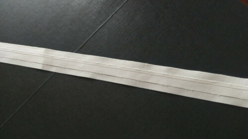 30mm WHITE ROMAN BLINDS TAPE DIFFERENT LENGTHS 1 inch WIDE