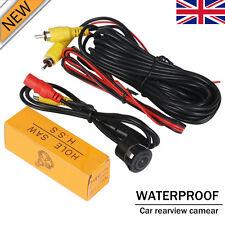 1/4` CCD Flush Mount Waterproof Truck Car Reverse Backup Rear View Camera Kit UK