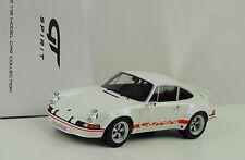 1973 Porsche 911 2.8 RSR Street white / red sign / weiss  1:18 GT Spirit ZM071