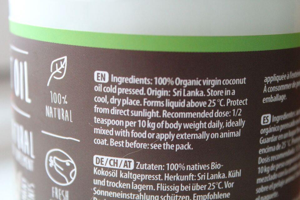 Kosttilskud, Kokos Olie