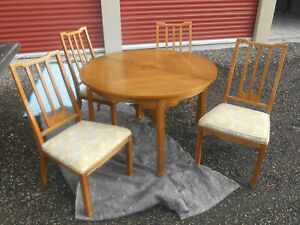 Details About Mid Century Asian Inspired 8 Pc Dining Set Table 5 Chairs China Cab Buffet