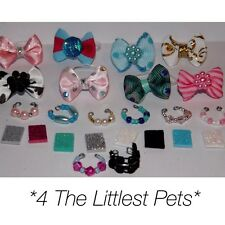 ��Littlest pet shop accessories LPS clothes 2bow 2collar 2Phone CAT NOT INCLUDED
