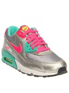Details about Air Max 90 2007 (GS) Size 5Y (345017 065) Magnet GreyVoltHyper JadeHyper Pink