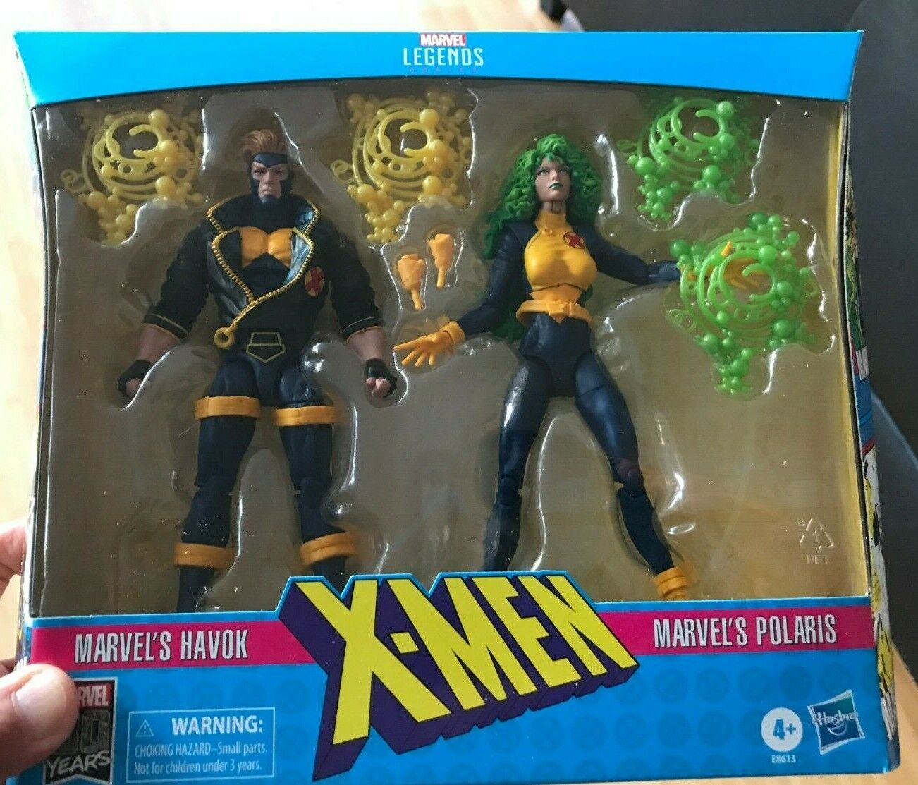 Marvel leggende HAVOK e POLARIS XFactor XMEN 2 Pack Nuovo Sigillato in uomoo