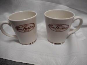 X2 TIM HORTONS ALWAYS FRESH COFFEE CUP MUG 12 OZ Steelite England  2010
