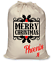 Personalizzata-Babbo-Natale-Sacco-Natale-Eve-Borsa-NATALE-CALZA-SACCO-Renna-ELF-GLITTER miniatura 10