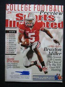 Sports Illustrated Magazine August 19 2013 Ohio State's Braxton Miller