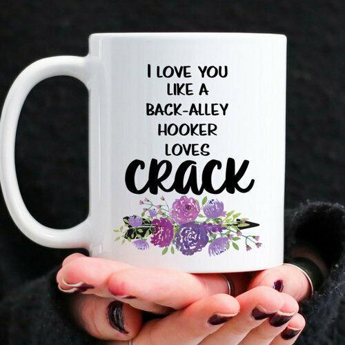 Coffee Mug Best Friend Gift Sarcastic Quote Mug Sarcasm Gifts Floral Mug