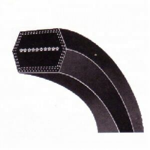 Choose Size AA Dunlop Hex Tractor Mower Agricultural Double Sided Vee Belt