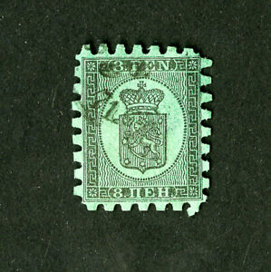FINLANDE-timbres-N-7b-Tres-Fine-Used-catalogue-value-275-00