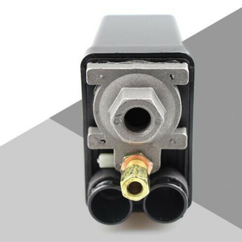 High Quality Solid Air Compressor Pump Pressure Switch Control Valve Black