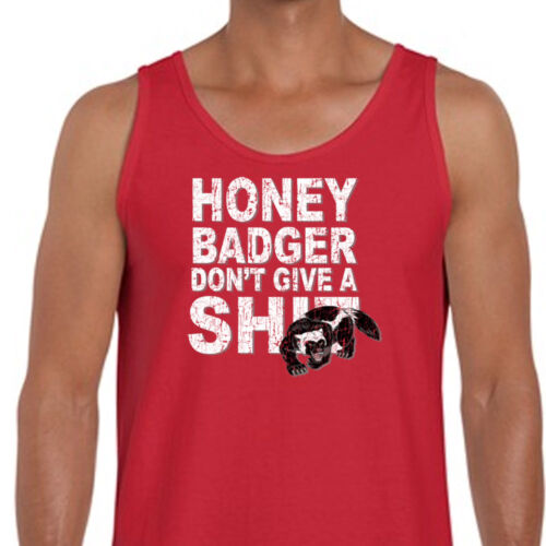Honey Badger Don/'t Give A Sh*t T-shirt Funny Adult American Apparel Tanktop