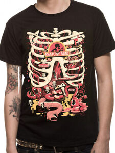 RICK-AND-MORTY-T-Shirt-Anatomy-Park-Official-NEW-S-M-L-XL-XXL