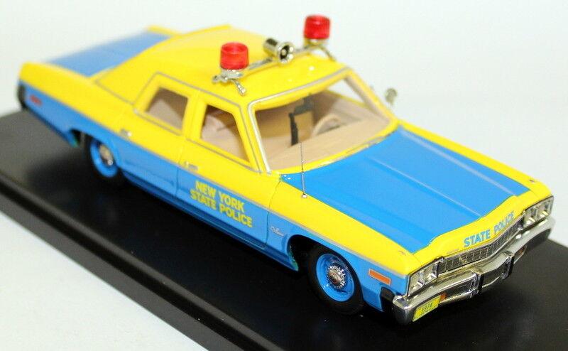 ahorra hasta un 50% Autoworld 1 43 escala 1150 74 Dodge Monaco Monaco Monaco New York State Police Coche Modelo de Resina  tienda de venta