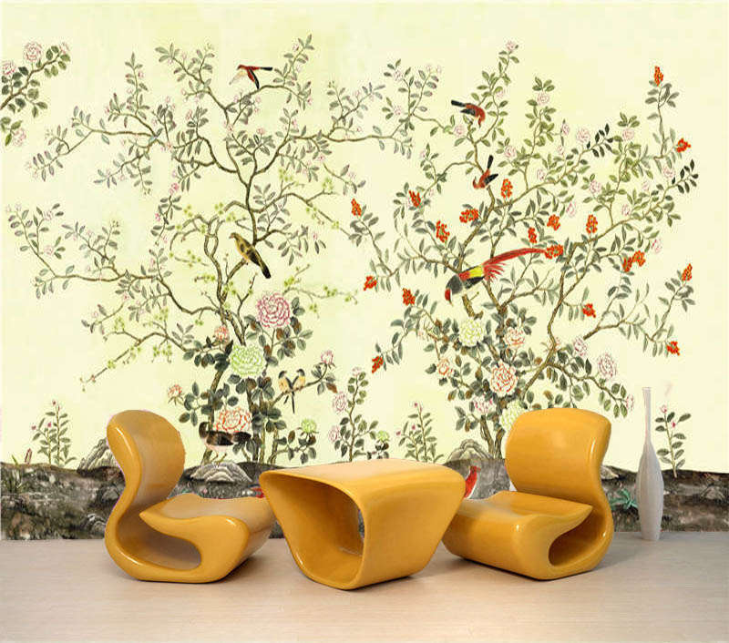Tender Ink Painting 3D Full Full Full Wall Mural Photo Wallpaper Printing Home Kids Decor ea72d9