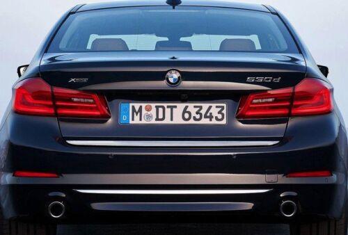 BMW 5er G30 2016 Chrom Zierleiste Heckleiste Heckklappe 3M Tuning Chromleiste