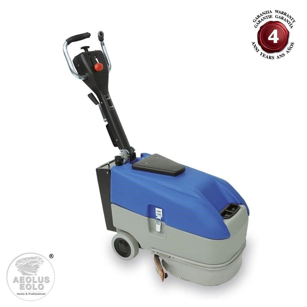 FLOOR SCRUBBER INDUSTRIAL CLEANING EOLO LPS01 B WITH BATTERY