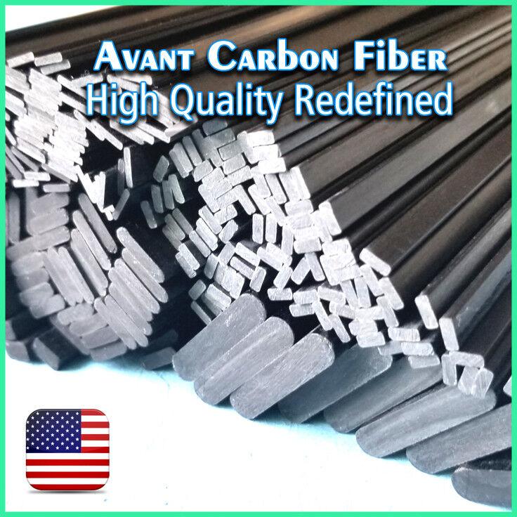 4 pieces 4mm x 20mm x 1000mm autobon Fiber Strip  Flat Sheet 4  20  1000  più sconto